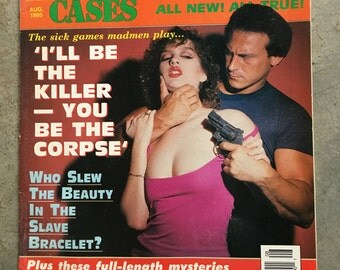 a MAGAZINE with crime in it