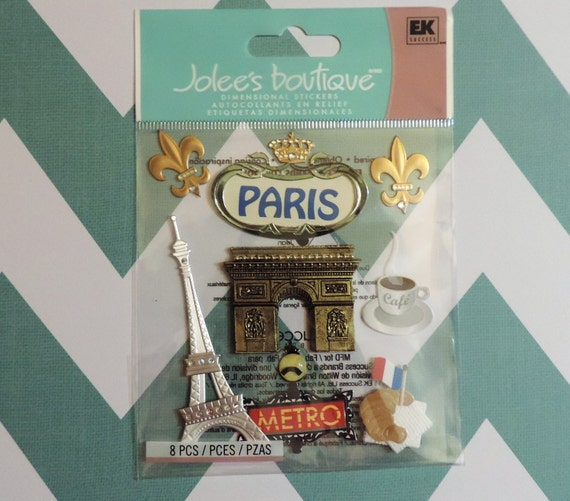 Paris scrapbook stickers by jolee 39 s boutique - Scrapbooking paris boutique ...