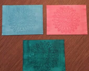 Rustic Mandala Print