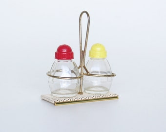 Vintage Pilastro salt & pepper set-Retro salt & pepper set