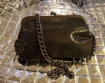 Black Glittery Handbag