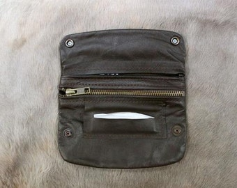 Leather Tobacco Pouch HandMade