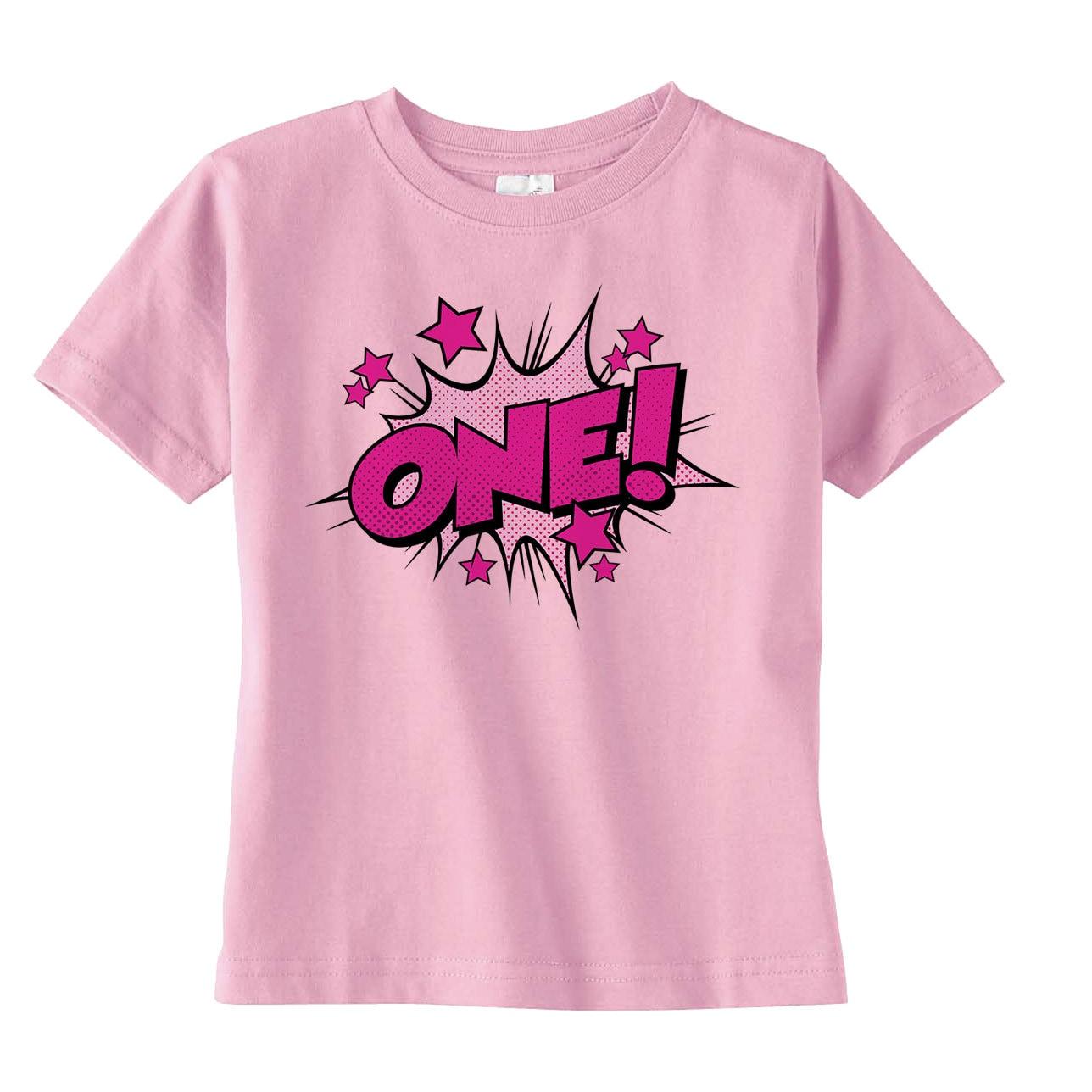 Girls Superhero Birthday Shirt Girls Birthday Outfit Girls