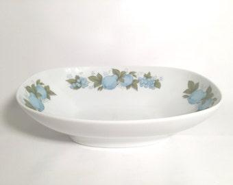 Noritake blue orchard vegetable bowl