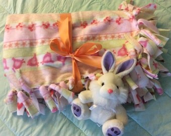 """Very Soft and Cuddly Baby Fleece Throw - 48"""" x 60"""""""