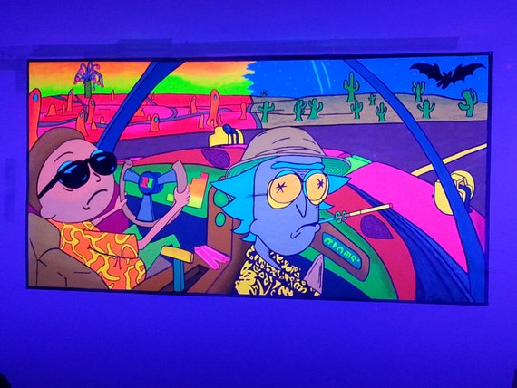 "Fear and Loathing in Las Vegas"" & ""Rick and Morty"
