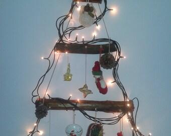 Hanging christmas tree-small