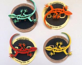Groovy Gecko Badge