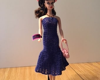 Blueberry Pink Barbie Outfit