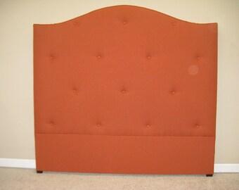 Designer Fabric Queen Upholstered Headboard