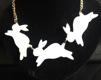 Kitsch Bunny Necklace