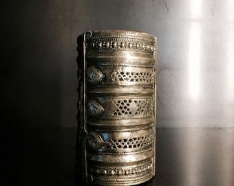 Gypsy Cuff Bangle Brass decorative
