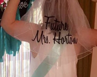 Veil That Says Future & Then The Name