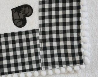 Beach towel in White Sponge-Salt Model