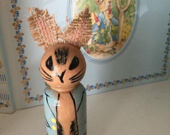 Peter Rabbit Peg Doll