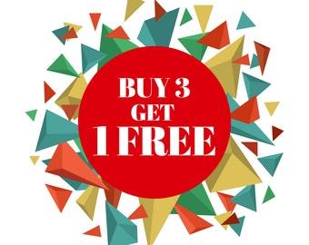 Sale, Buy 3 Get 1 Free,CardDigital