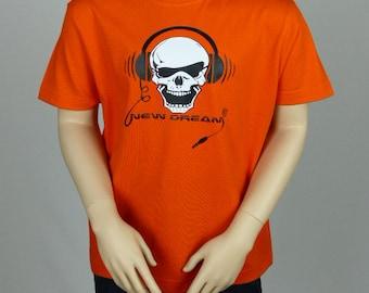 T-shirt boys orange