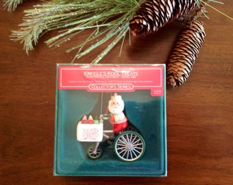 Hallmark Ornaments Kringles Kool Treats 1986 number 8 in the series