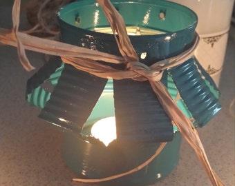 Tin Can Candle Lantern