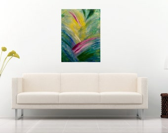 Abstract Oil Painting On Canvas Textured Paste Art Fine Art Wall Art Canvas Home Interiot Painting Contemporary Art Office Interior Decor