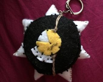 Riptire Overwatch Junkrat ult plush keychain keyring tire nerd video game geek handmade