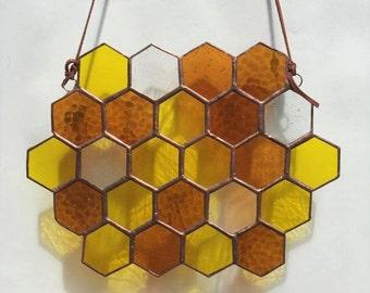 Suncatcher Large Honeycomb