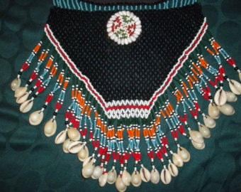 Inuit Bead and Shell Neckwear