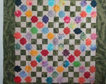 Origami Flower Quilt