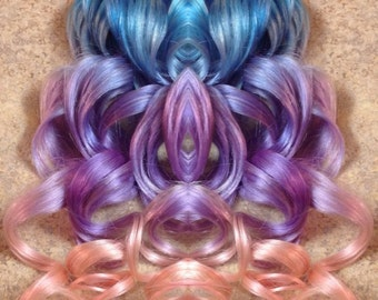 DREAMER pastel human hair extensions