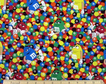 M&M Friends Candy Fabric From Springs Creative