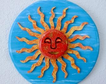 Aztec Sun Wall Decor