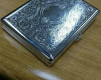 Ornate cigarette case