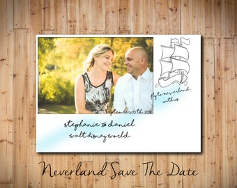 Neverland Save The Date DIGITAL FILE!