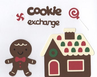 Gingerbread Die Cuts Embellishments