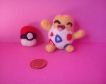 Togepi and Pokeball