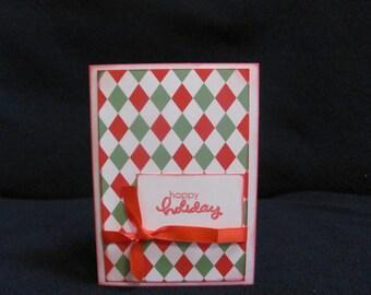 Happy Holiday Greeting Card