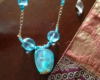 Blue Nacklace