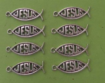 Jesus Fish Charms