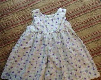 Small Handmade Baby Jumper Dress