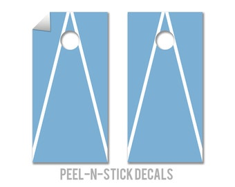 North Carolina Cornhole Board Decals