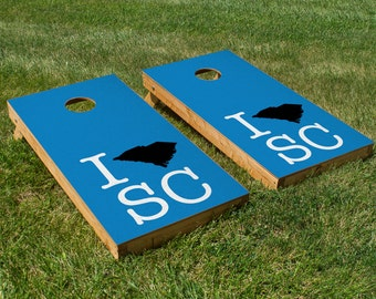 Carolina Panthers-South Carolina Pride Cornhole Board Set