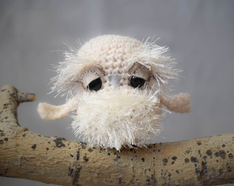 Baby Snow Owl Crochet Pattern