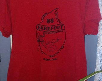 88 Barefoot Water- Skiing  T-Shirt