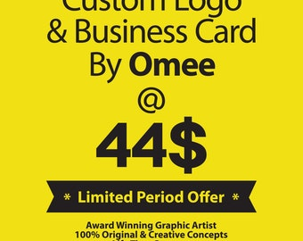 Custom Logo and Business Card By Omee