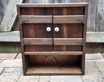 Rustic Farmhouse Cabinet