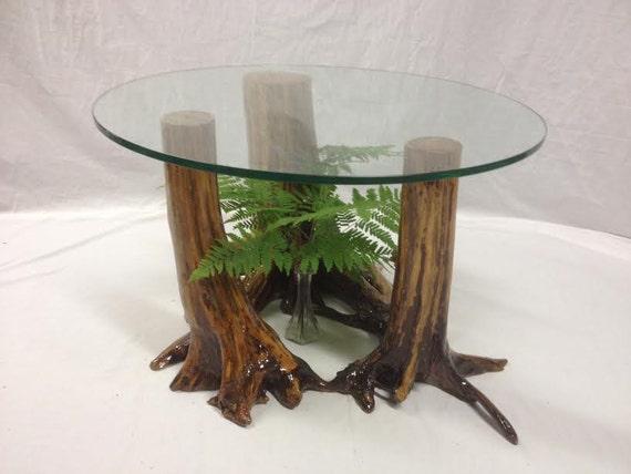 Rustic coffee table rustic furniture glass coffee table for Rustic glass coffee table