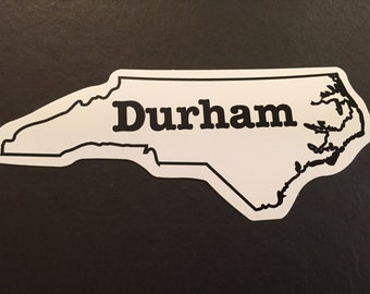 Durham NC Decal