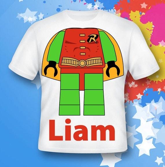 Lego RObin Shirt