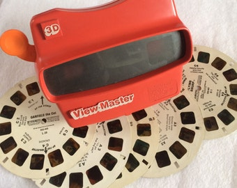 Vintage View Master 3D Optical Toy with 5 frames