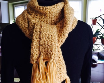 Beautiful Golden Scarf